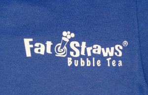 fat straws bubble tea