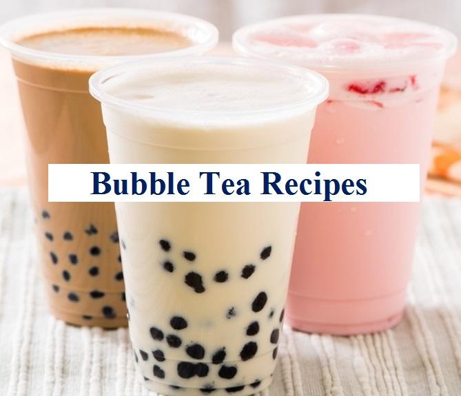 bubble tea recipes banner